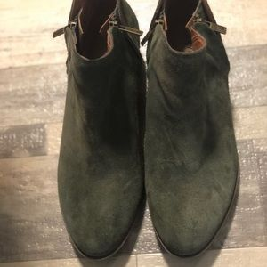 Lucky Basel Olive Suede Boot